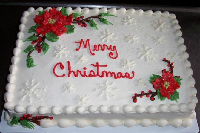 Would you like to share some of your homemade Christmas cake recipes?