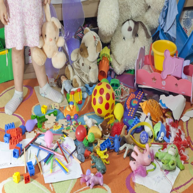 Does your child's room perpetually look like this?