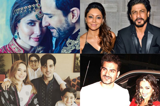 9 Bollywood Khans and their Wives