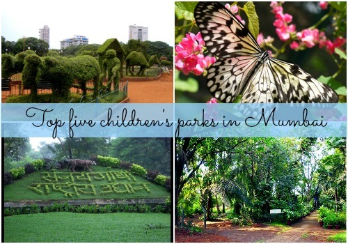 Top 5 children's parks in Mumbai