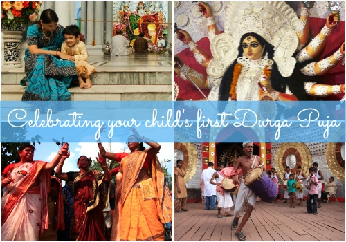 Make your baby's first Durga Puja a memorable event!