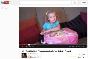 FUNNY VIDEO: Girl's reaction to birthday surprise