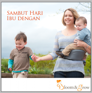 Raikan Hari Ibu dengan Bloom and Grow